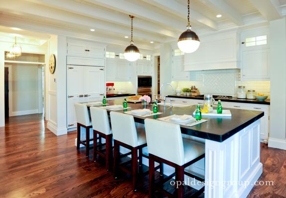 Modern L-shaped-kitchen-design