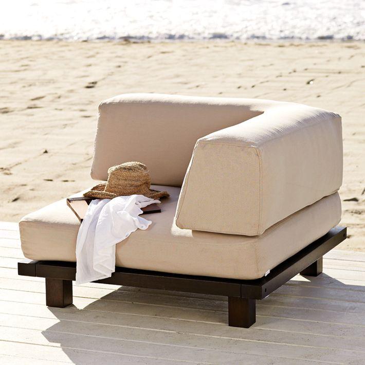 Outdoor corner Modular Seat