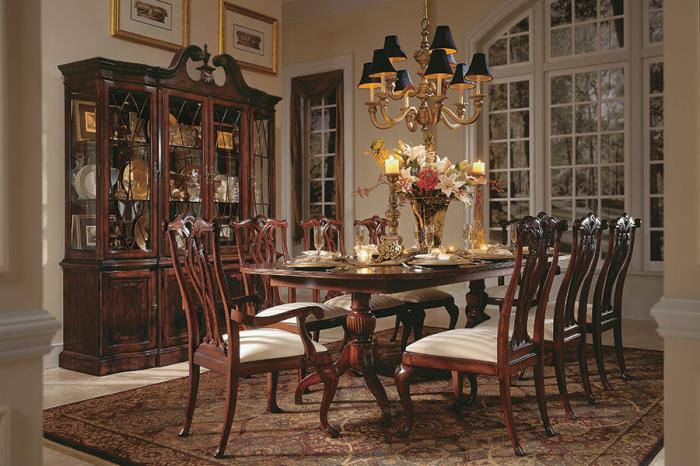 cherrylane Victorian dining room