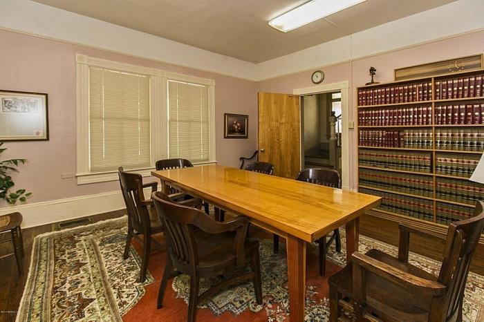 classy formal dining room