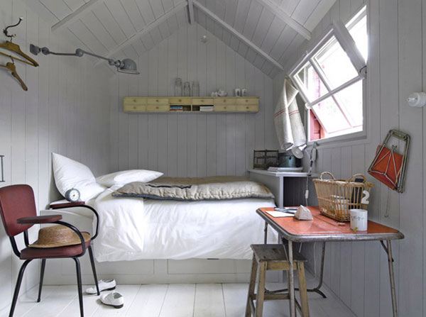 small bedroom in loft
