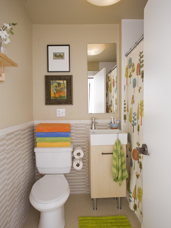 functional  small bathroom