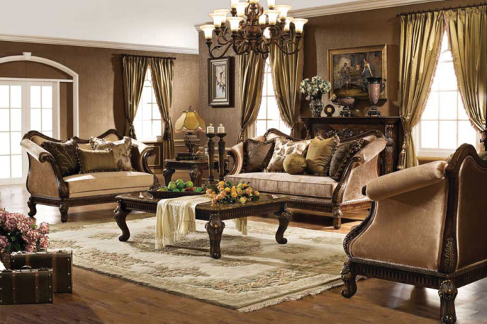 10 Victorian Style Living Room Designs