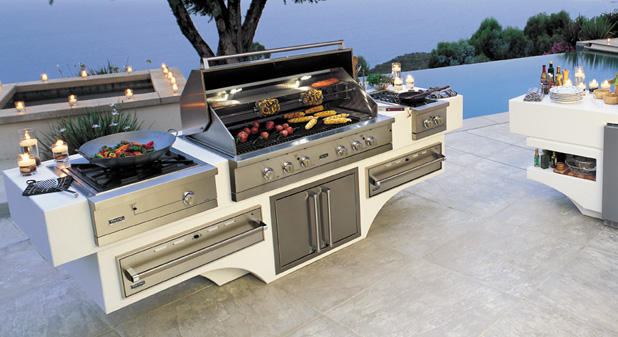 malibu outdoor kitchen design