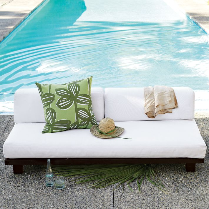 outdoor living love seat