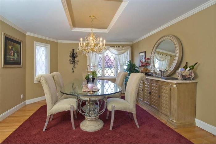 pearl modern dining room