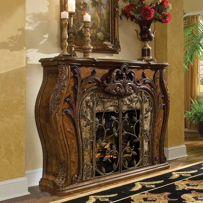 Royal Crest Victorian Style Fireplace