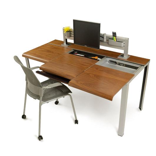 Wooden Slim Desk