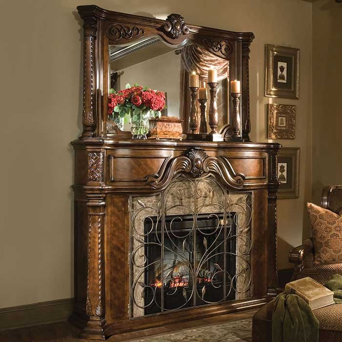 2-Winchester Victorian Style Fireplace