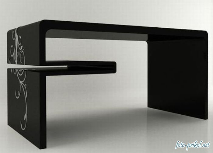Sleek and Elegant Office Desk