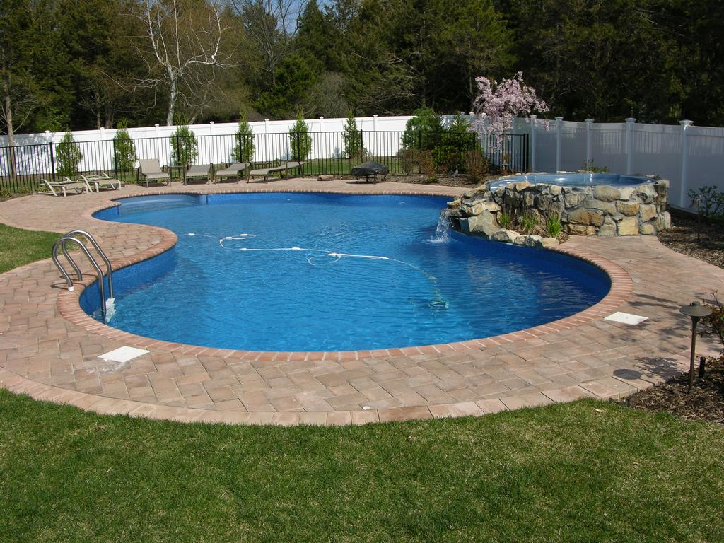 In-ground Pool in Free Form Shape
