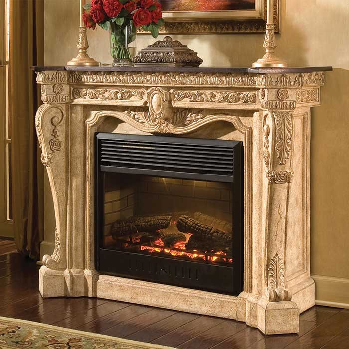 Versailles Victorian Style Fireplace