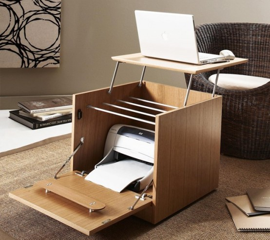 Folding Cube Turn Into Desk