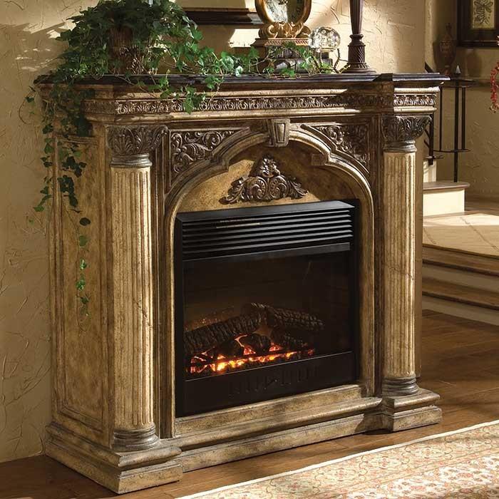 Verona Victorian Style Fireplace