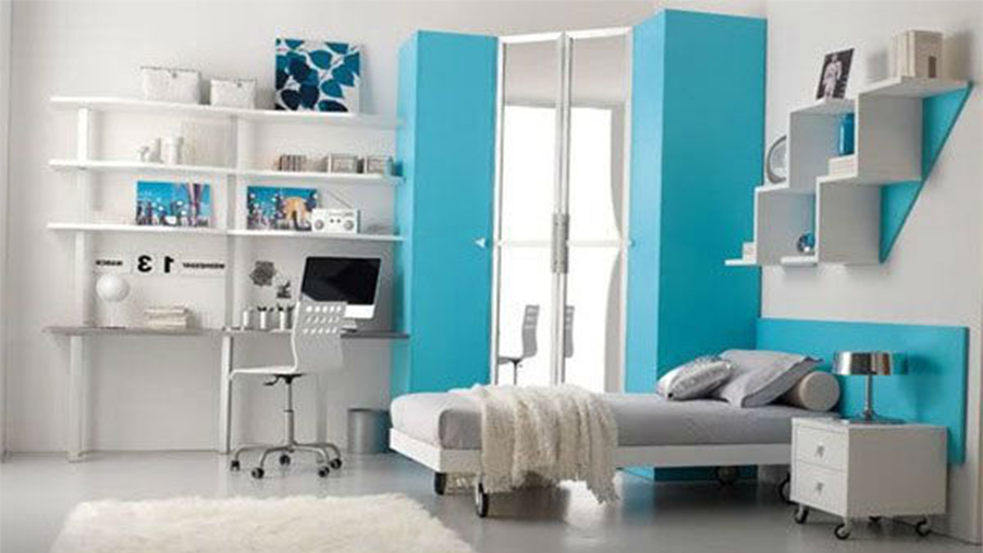 Cool and Stunning Bedroom Design