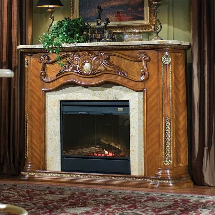 Chateau Victorian Style Fireplace