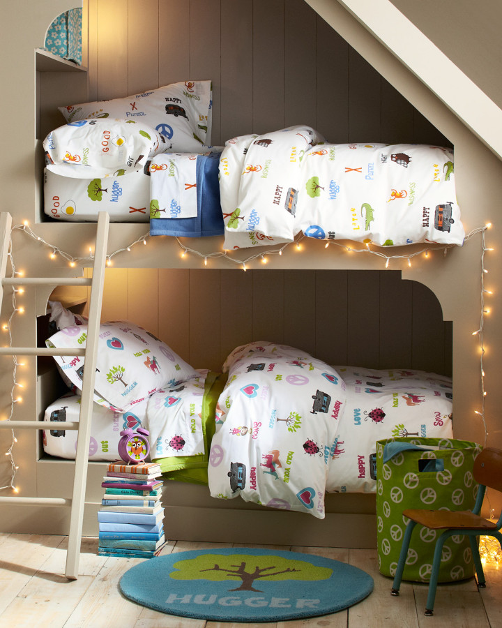 eclectic bunk bed design