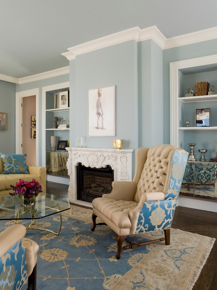 10 sophisticated living rooms for Traditional living room