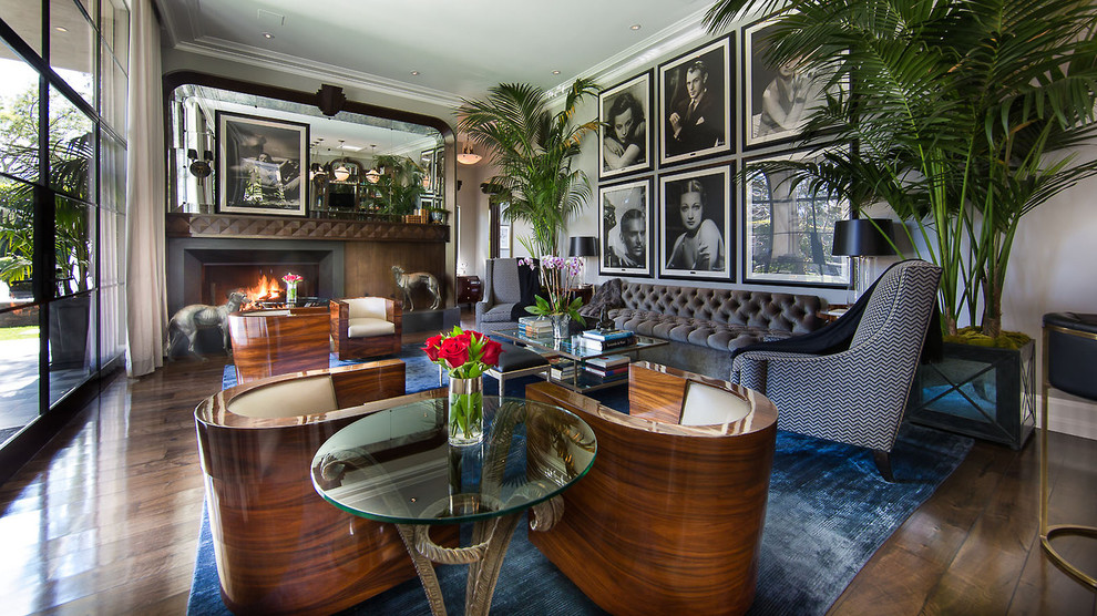 10 art deco inspired furniture and interior designs - Art deco living room ...