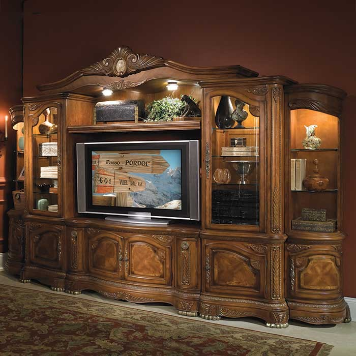 victorian style entertainment unit