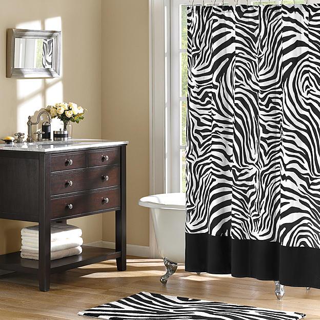 White And Black Zebra Skin