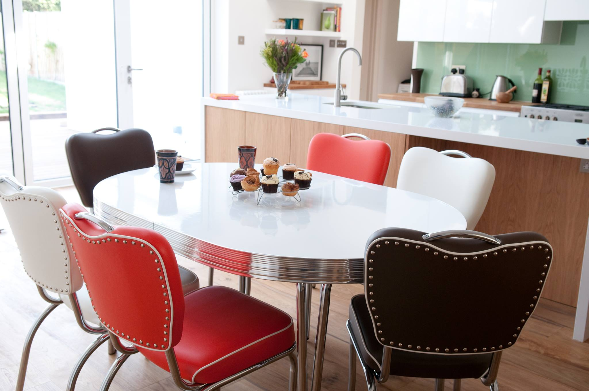 red and black dining room sets | 10 Cola Red Dining Room Furniture From John Lewis