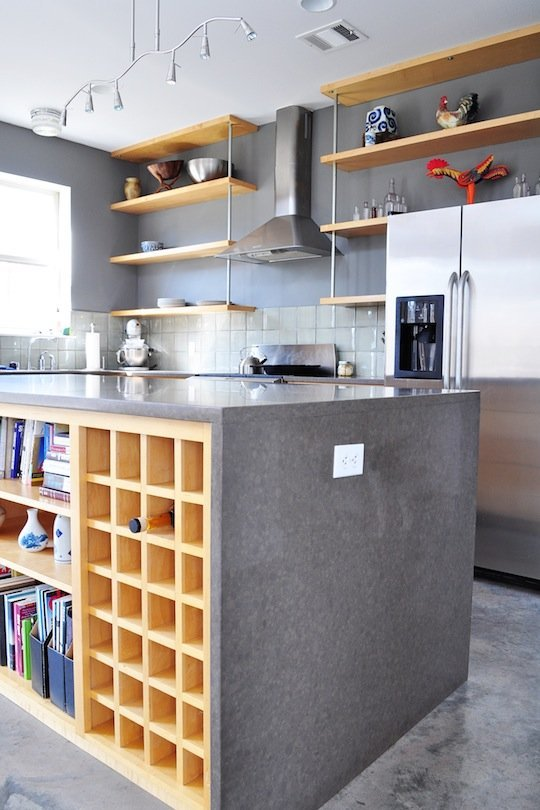 storage minimalist living room