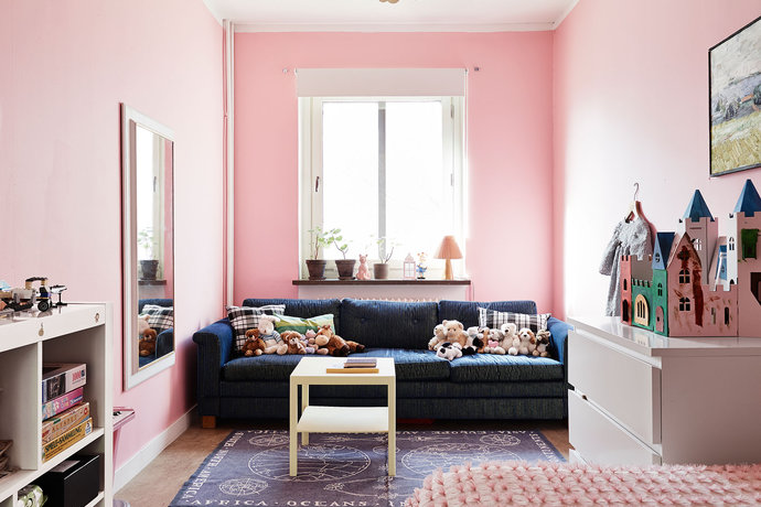 rech pink teenage bedroom