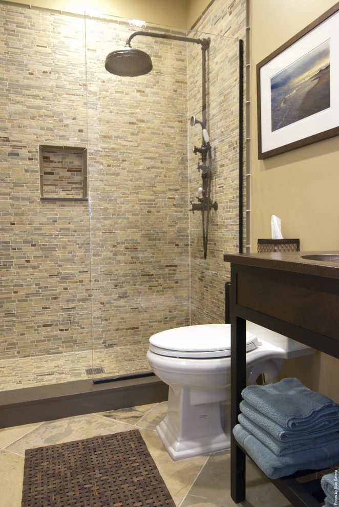 10 beautiful small shower room designs ideas interior for Small bathroom design houzz