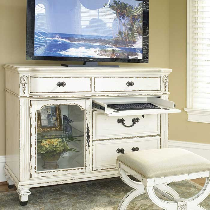 victorian style East Hampton Media Chest