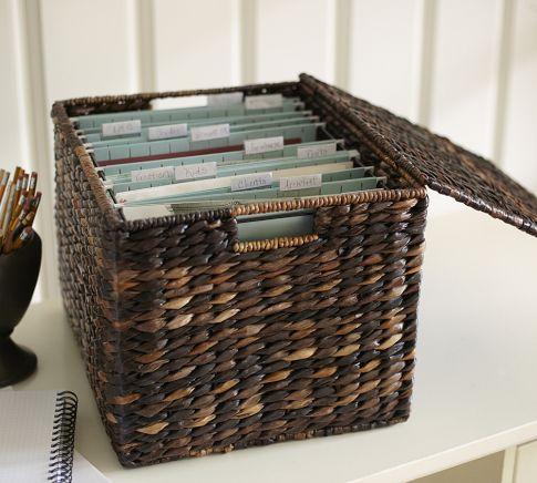 basket filing cabinets