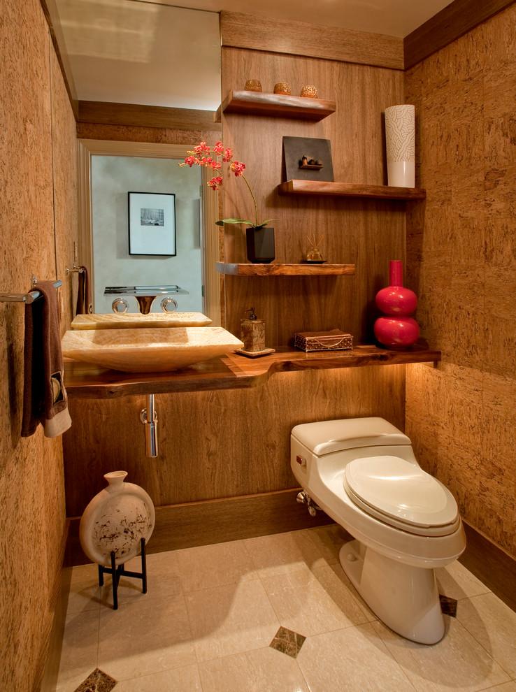 floating shelves for bathroom storage