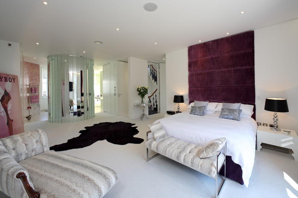 elegant artistic bedroom design