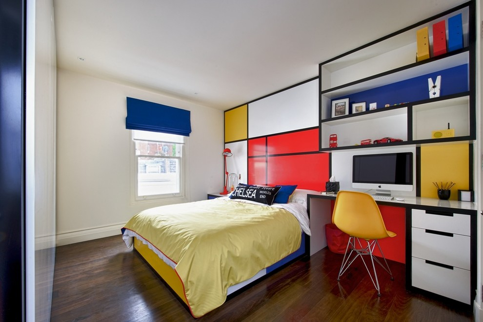 yellow bedroom design