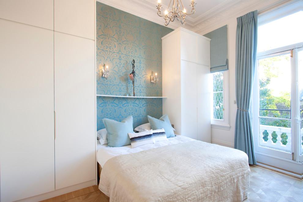 small bedroom near window