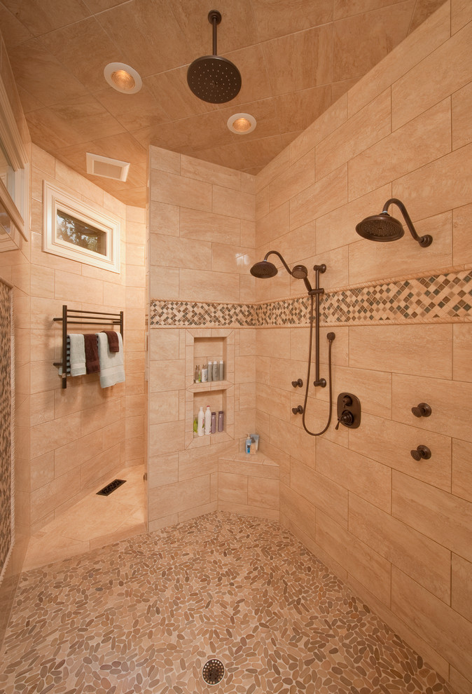 Amazing bathroom renovations that will inspire you for Master bathroom no door