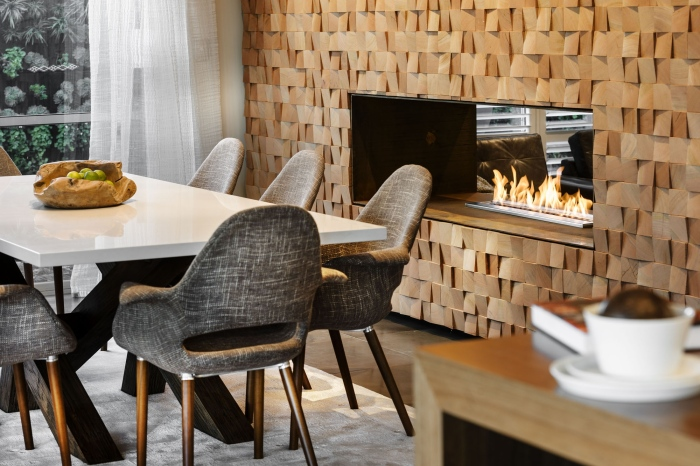 A-Modern-dining-zone-with-a-rustic-fire-place