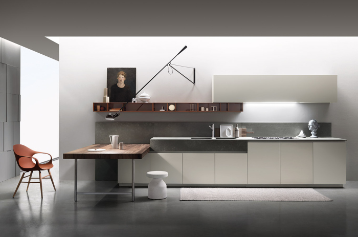 Modern-kitchen-with-a-contemporary-Italian-kitchen-work-table-idea