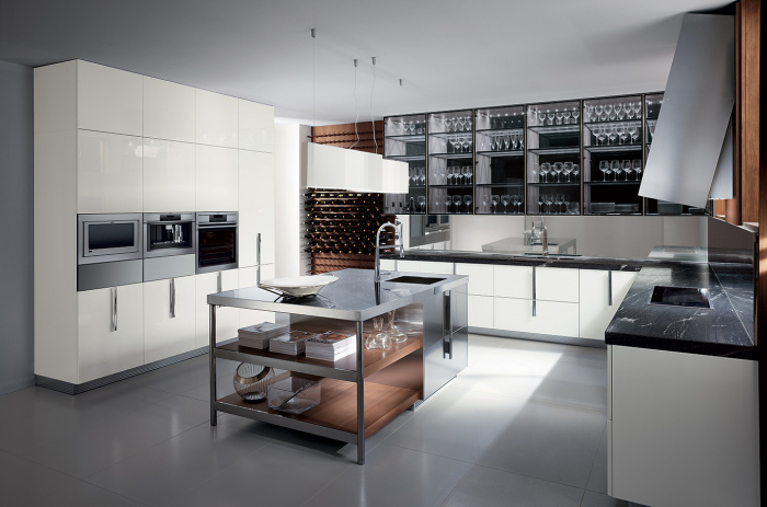modern-kitchen-with-a-contemporary-Italian-kitchen-working-table-idea