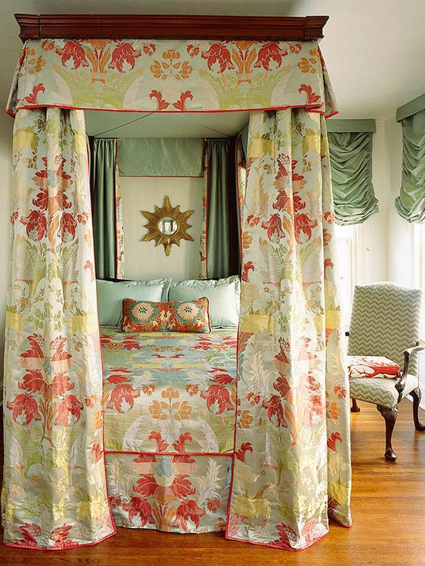 Mary Douglas Drysdale Pattern Bedroom