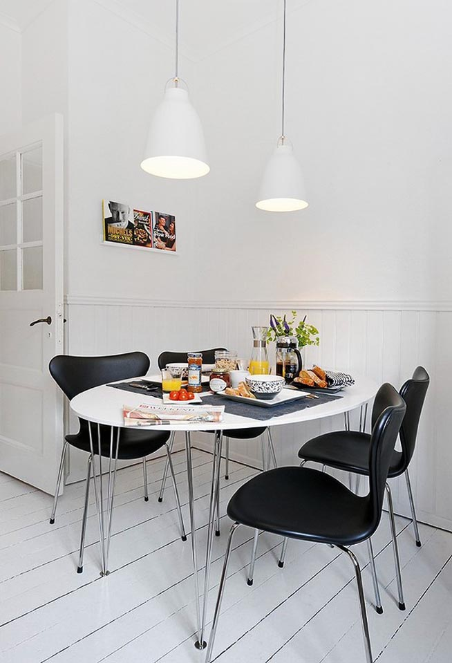 Fascinating dining table designs for Dining table options for small spaces