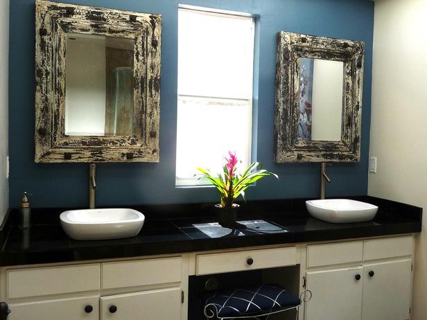 Priya Bhakta Nair Blue Bathroom