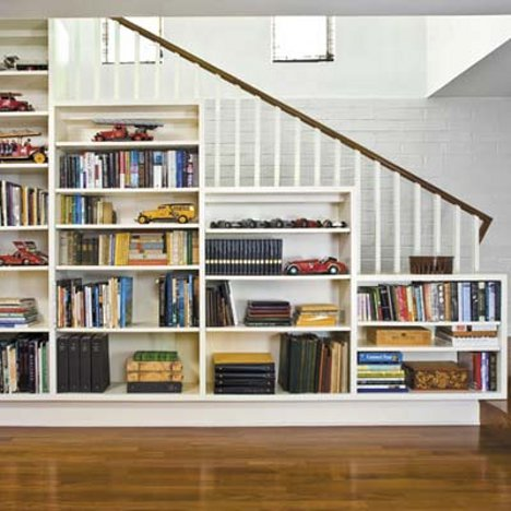 Staircase Bookshelves Concept