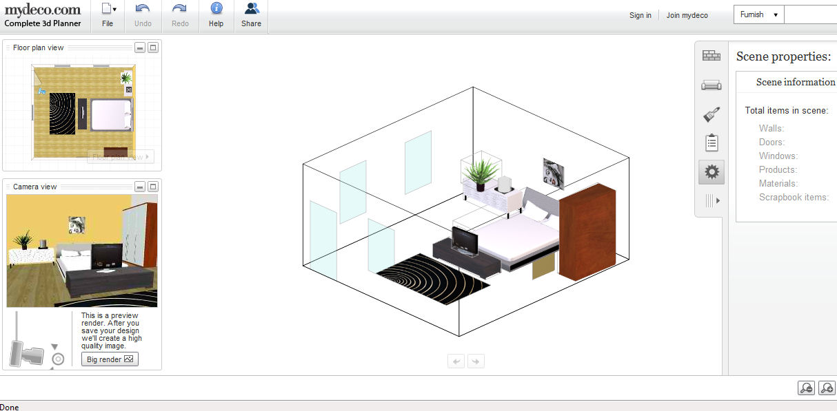 Create your own with these virtual house designs for 3d bedroom planner
