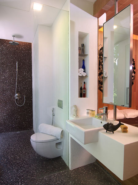 Small shower room decorating ideas for Bathroom designs singapore
