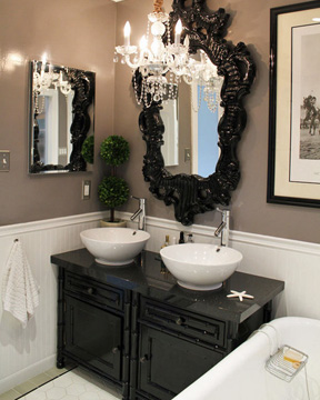 Stylish Chic Bathroom