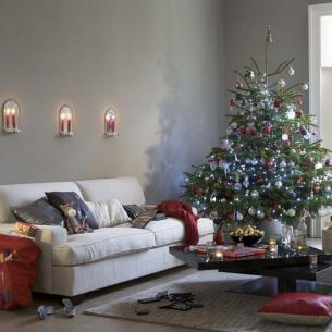 Lovely Multicolored Christmas Ball
