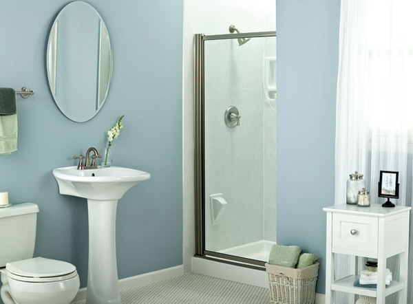 Modern Small Bathroom Interior Design