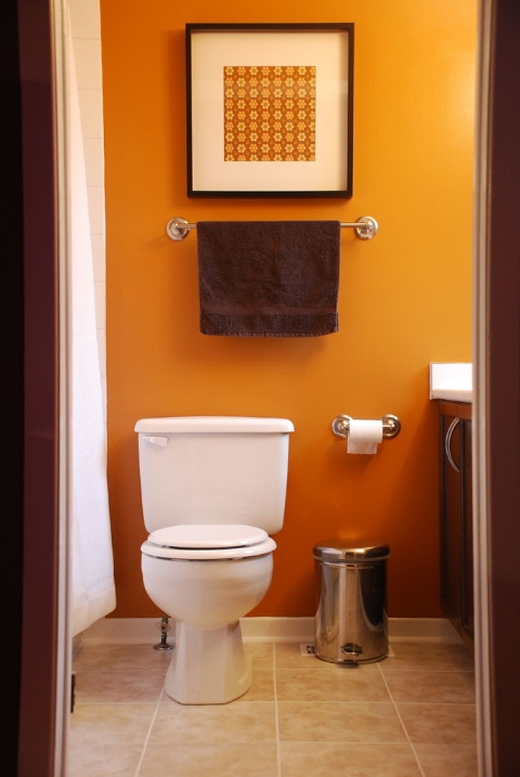 Cool decors to adorn your small bathroom for Cool small bathroom designs