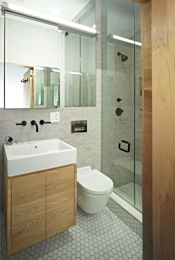 Sweet Astonishing Small Apartment Bathroom
